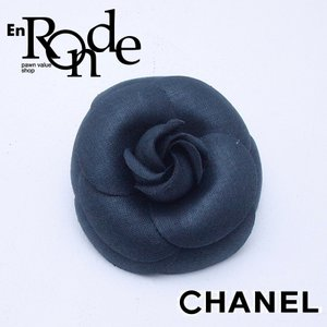 シャネル CHANEL 小物アクセサリー ブローチ カメリア ブラック 中古 新入荷 おすすめ|ronde
