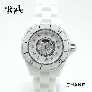 シャネル CHANEL レディース時計 J12 ホワイトセラミック 白 中古|ronde