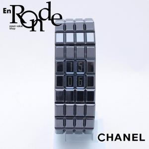 シャネル CHANEL レディース時計 シャネル ショコラ H1003 セラミック 黒 中古 新入荷 おすすめ 新着|ronde
