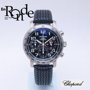ショパール メンズ腕時計 ミッレミリア Ti(チタン)/ラバー ブラック文字盤 中古 新入荷 おすすめ 新着 ronde