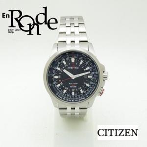 シチズン メンズ腕時計 プロマスター GMT B877-R005651 SS(ステンレス) ブラック文字盤 中古 新入荷 おすすめ|ronde
