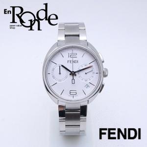 フェンディ メンズ腕時計 モメント 21200G SS ホワイト文字盤 中古 新入荷 おすすめ|ronde