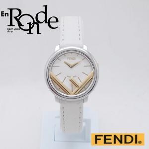 フェンディ レディース腕時計 ラナウェイ SS/GP ホワイト文字盤 中古 新入荷 おすすめ OW0213 ronde