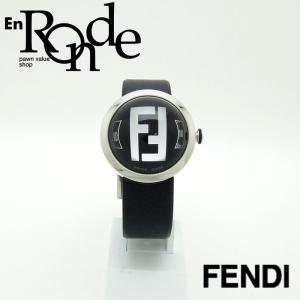 フェンディ メンズ腕時計 ブースラ 8010G SS/ ラバー ブラック文字盤 新品同様 新入荷 おすすめ OW0226 新着 ronde