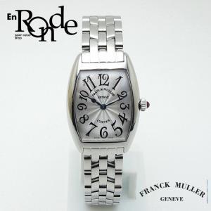 フランクミュラー レディース腕時計 トノーカーベックス 1752QZ SS(ステンレス) 白文字盤 中古 新入荷 おすすめ 新着|ronde