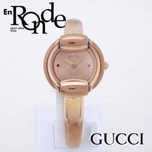 グッチ GUCCI レディース腕時計 1400L 1400L PGP ピンク文字盤 中古 新入荷 おすすめ GU0208|ronde