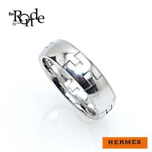 エルメス HERMES 指輪リング ヘラクレスリング K18WG(ホワイトゴールド) 中古|ronde