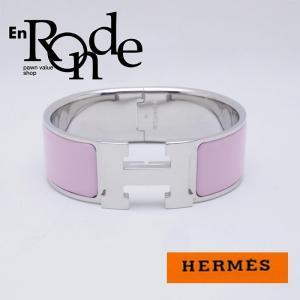 エルメス HERMES ブレスレットバングル バングル クリッククラック ピンク/シルバー 中古 新入荷 おすすめ HE0357|ronde