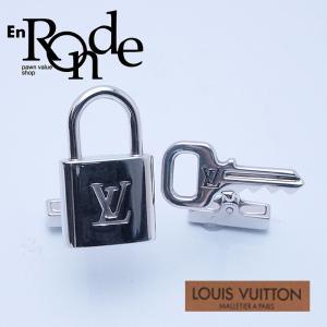 ルイ・ヴィトン LOUISVUITTON ダミエ 小物アクセサリー ブトンドゥマンシェットカデナエクレ  M64600 SV/レザー アルジャン 中古 新入荷 おすすめ 新着|ronde