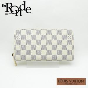ルイ・ヴィトン LOUISVUITTON ダミエ 長財布 ジッピーウォレット N60019 コーティングキャンバス ダミエ アズール 中古 人気商品 新着|ronde
