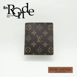 ルイ・ヴィトン LOUISVUITTON モノグラム 二つ折財布 二つ折り 札入れ M60833 コーティングキャンバス モノグラム 中古 新入荷|ronde
