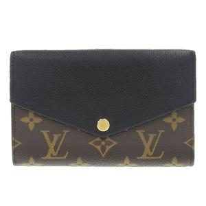 ルイヴィトン LOUIS VUITTON モノグラム ポルトフォイユ・パラスコンパクト 二つ折財布 財布 ノワール M60990 中古 新入荷 LV0648|ronde