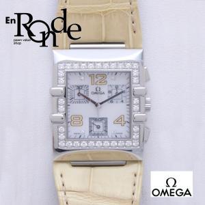 オメガ OMEGA レディース腕時計 コンステレーション カレ クアドラ SS/ダイヤ シェル文字盤 中古 新入荷 おすすめ OW0160|ronde