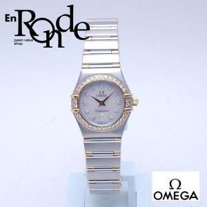 オメガ OMEGA レディース腕時計 コンステレーションミニ SS/YG シェル文字盤 中古 新入荷 おすすめ OW0156|ronde