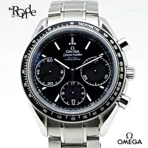 オメガ OMEGA メンズ時計 スピードマスターレーシングコーアクシャル ステンレス 黒文字盤 中古|ronde