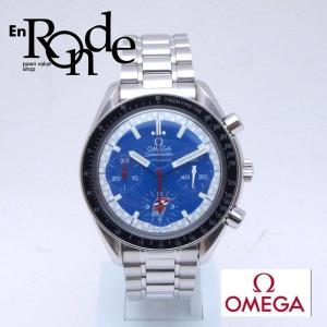 オメガ OMEGA メンズ腕時計 スピードマスター 3510-80 SS(ステンレス) ブルー文字盤 中古 新入荷 OW0176|ronde