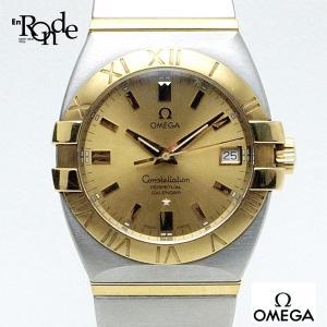 オメガ OMEGA メンズ時計 コンステレーションダブルイーグル ステンレス/K18 シャンパン文字盤 中古|ronde