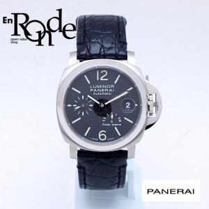 パネライ メンズ腕時計 ルミノールパワーリザーブ OP6767 SS/革 ブラック文字盤 中古 新入荷 おすすめ 新着|ronde