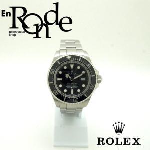 ロレックス ROLEX メンズ腕時計 シードゥエラー ディープシー 116660 SS ブラック文字盤 中古 新入荷 おすすめ RO0188 新着|ronde