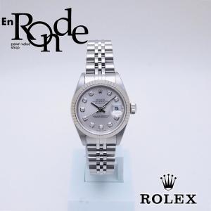 ロレックス ROLEX レディース腕時計 デイトジャスト 69174G SS/WG/ダイヤ シルバー文字盤 中古 新入荷 おすすめ RO0184 新着|ronde