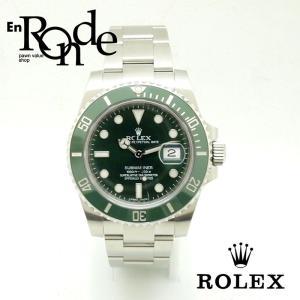 ロレックス ROLEX メンズ腕時計 サブナリーナ 116610LV SS(ステンレス) グリーン文字盤 中古 新入荷 おすすめ RO0159|ronde