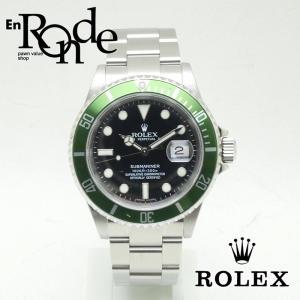 ロレックス ROLEX メンズ腕時計 サブマリーナ 16610LV SS(ステンレス) ブラック文字盤 中古 新入荷 おすすめ RO0160|ronde