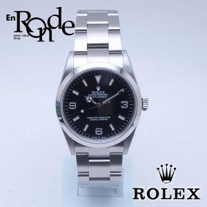 ロレックス ROLEX メンズ腕時計 エクスプローラーI 114270 SS(ステンレス) ブラック文字盤 中古 新入荷 おすすめ 新着|ronde
