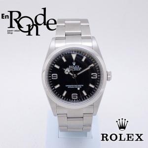 ロレックス ROLEX メンズ腕時計 エクスプローラー1 114270 SS(ステンレス) ブラック文字盤 中古 新入荷 新着|ronde
