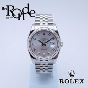 ロレックス ROLEX メンズ腕時計 デイトジャスト 116234G SS/WG/10PD シルバー文字盤 中古 新入荷 おすすめ 新着|ronde
