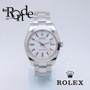 ロレックス ROLEX メンズ腕時計 ミルガウス 116400 SS(ステンレス) ホワイト文字盤 中古 新入荷 おすすめ 新着|ronde