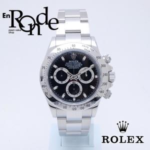 ロレックス ROLEX メンズ腕時計 デイトナ 116520 SS(ステンレス) ブラック文字盤 中古 新入荷 おすすめ|ronde