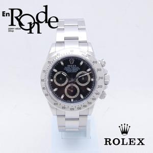 ロレックス ROLEX メンズ腕時計 デイトナ 116520 SS(ステンレス) ブラック文字盤 中古 新入荷 おすすめ RO0172|ronde