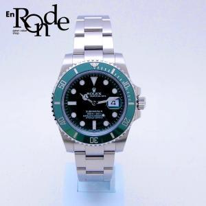 ロレックス ROLEX メンズ腕時計 サブマリーナ 116610LV SS(ステンレス) グリーン文字盤 中古 新入荷 おすすめ 新着|ronde