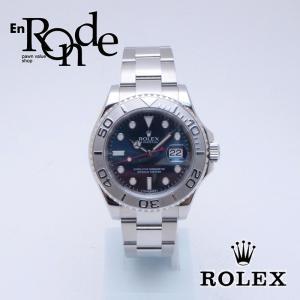 ロレックス ROLEX メンズ腕時計 ヨットマスター 116622 SS/Pt 青文字盤 中古 新入荷 おすすめ 新着|ronde