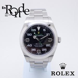 ロレックス ROLEX メンズ腕時計 エアキング 116900 SS(ステンレス) ブラック文字盤 中古 新入荷 おすすめ 新着|ronde