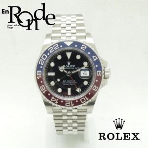 ロレックス ROLEX メンズ腕時計 GMTマスターII 126710BLRO SS(ステンレス) ブラック文字盤 中古 新入荷 おすすめ RO0158|ronde