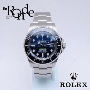 ロレックス ROLEX メンズ腕時計 シードウェラー ディープシー Dブルー 126660 SS(ステンレス) ブルー文字盤 中古 新入荷 おすすめ 新着|ronde