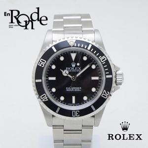 ロレックス ROLEX メンズ時計 サブマリーナ ノンデイト 14060 ステンレス 黒文字盤 中古 お買得品 おすすめ 新着|ronde