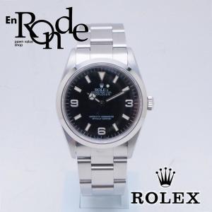 ロレックス ROLEX メンズ腕時計 エクスプローラー1 14270 SS(ステンレス) ブラック文字盤 中古 新入荷 おすすめ 新着|ronde