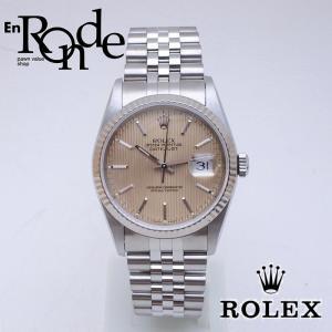 ロレックス ROLEX メンズ腕時計 デイトジャスト 16234 SS/WG タペストリー文字盤 中古 新入荷 おすすめ|ronde