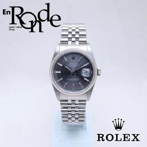 ロレックス ROLEX メンズ腕時計 デイトジャスト 16234 SS/WG グレータペストリー文字盤 中古 新入荷 おすすめ RO0183 新着|ronde