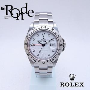 ロレックス ROLEX メンズ腕時計 エクスプローラーII 16570 SS(ステンレス) ホワイト文字盤 中古 新入荷 おすすめ 新着|ronde