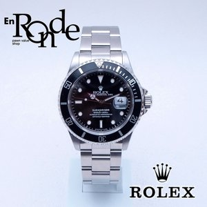 ロレックス ROLEX メンズ腕時計 サブマリーナ 16610 SS(ステンレス) ブラック文字盤 中古 新入荷 おすすめ|ronde