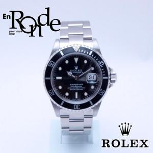 ロレックス ROLEX メンズ時計 サブマリーナ 16610 SS(ステンレス) 黒文字盤 中古 新入荷 おすすめ 新着|ronde