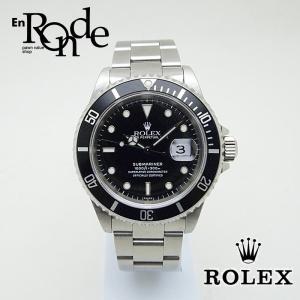 ロレックス ROLEX メンズ時計 サブマリーナ 16610 ステンレス 黒文字盤 中古 新入荷 おすすめ 新着|ronde
