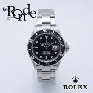 ロレックス ROLEX メンズ腕時計 サブマリーナ 16610 ステンレス 黒文字盤 中古 新入荷 おすすめ 新着|ronde