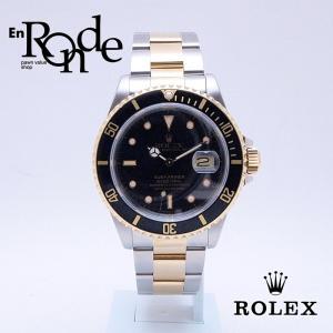 ロレックス ROLEX メンズ腕時計 サブマリーナ 16613LN SS/YG ブラック文字盤 中古 新入荷 おすすめ 新着|ronde