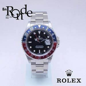 ロレックス ROLEX メンズ腕時計 GMTマスターII 16710 SS(ステンレス) ブラック文字盤 中古 新入荷 おすすめ 新着|ronde