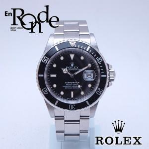 ロレックス ROLEX メンズ腕時計 サブマリーナ 168000 SS(ステンレス) ブラック文字盤 中古 新入荷 おすすめ|ronde