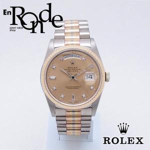 ロレックス ROLEX メンズ腕時計 デイデイト 18239ABIC K18WG/YG/PG シャンパン文字盤 中古 新入荷 おすすめ|ronde